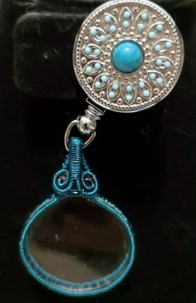 A Handmade Wire Wrapped Monocle