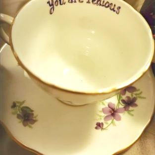 Hand Painted Tea Cup 2