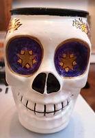 Hand Painted Skull Glass.jpg