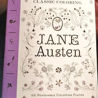 Jane Austen Coloring Book