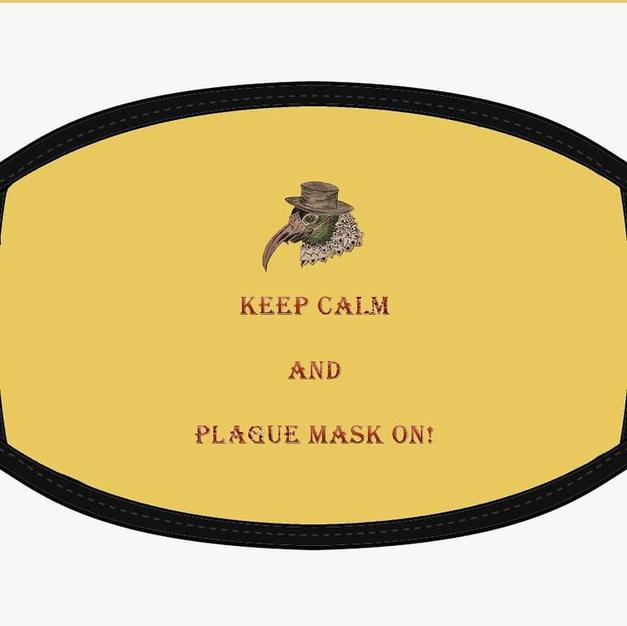 Keep Calm Mask