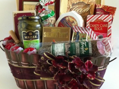 Mixed Snacks Christmas Celebration