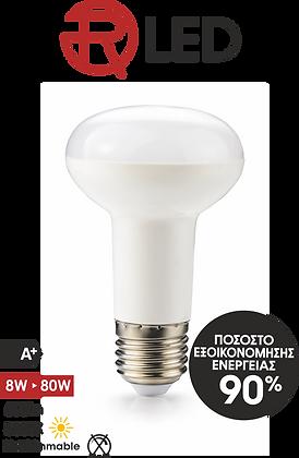 ΛΑΜΠΑ LED SMD R63 8W Ε27 3000K