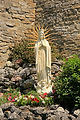Statue of Our Lady of Guadelupe at the Shrine of Our Lady of the Woods.