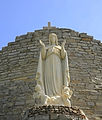 Statue of the Virgin Mary at the Shrine of Our Lady of the Woods.