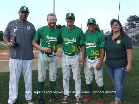 Pitchers (2) awards