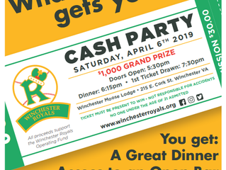 2nd Annual CASH Party!