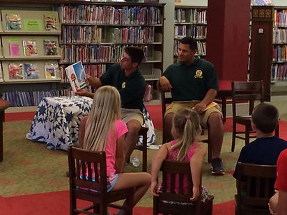 Winchester Royals Community Outreach at Handley Library