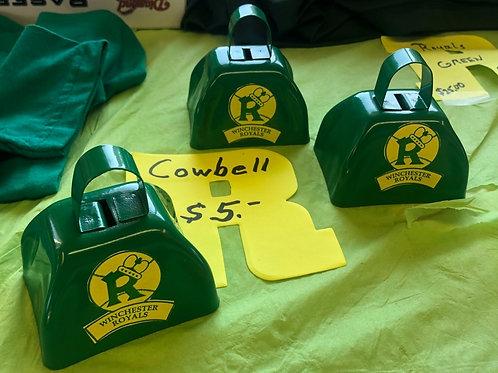 Royals Green Cowbell