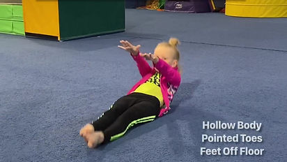 Competitive Edge Gymnastics Exercise Video