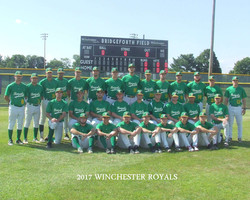 Winchester Royals 2017 Team Photo