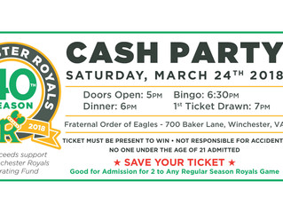 1st Annual Cash Party
