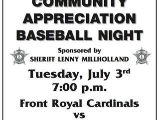 Community Appreciation Night!