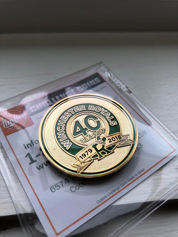 40th Season Commemorative Coin