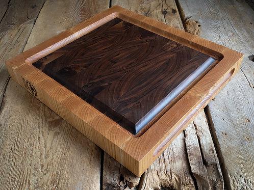 Walnut and White Oak Board