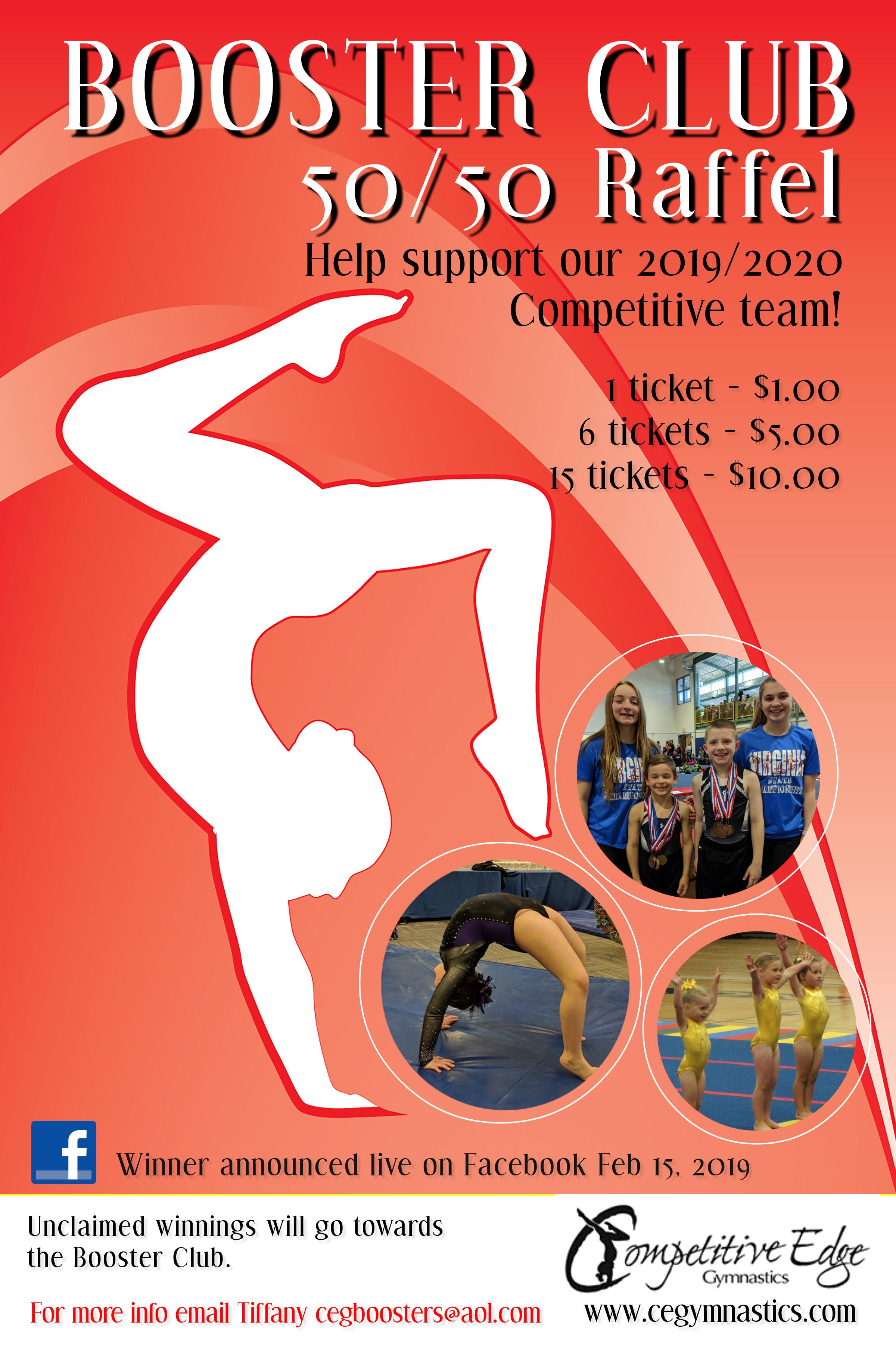 Competitive Edge GymnasticsG-raffel- flyer