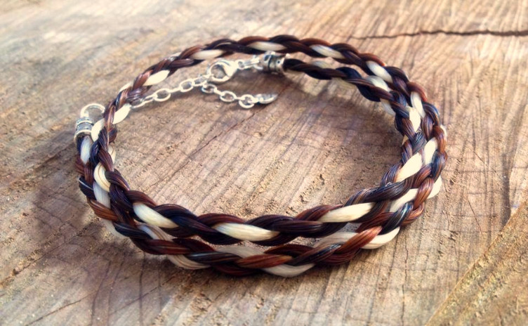 Braided Tails Custom Horsehair Bracelets