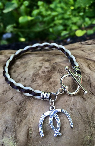 Braided Tails Horsehair Jewelry