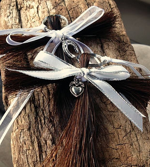 Braided Tails Horsehair Ornaments & Tassels