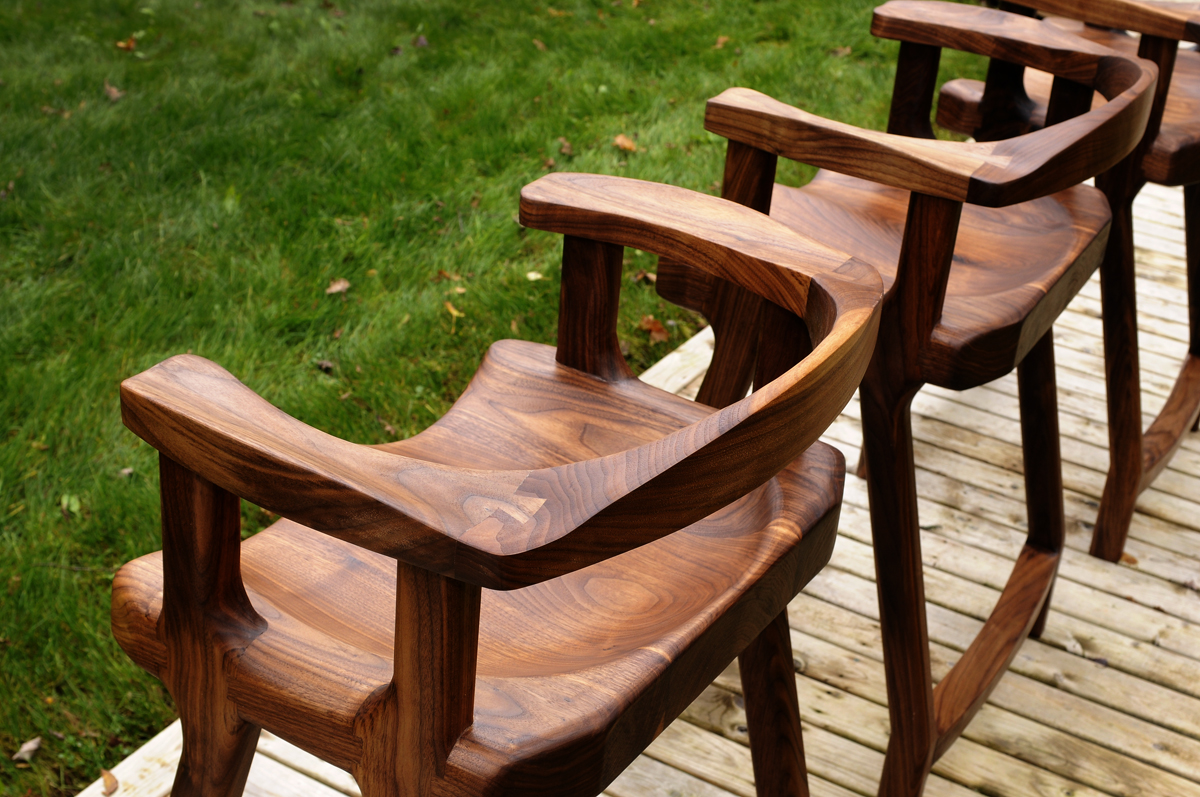 Walnut Stools