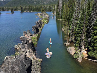 Exploring Sparks Lake and the Cascade Lakes Highway