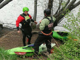 What Whitewater Kayaking Lessons Look Like in Bend: Film Makers Environmentalists and Snowboarders