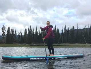 Sparks Lake is Closing for Road Work,  Bend Kayak School and the OWA Got in an Evening of Paddling
