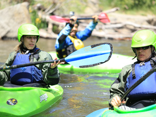 About Surviving Breast Cancer and Kayak Lessons, What I Learned in a Kayak Course