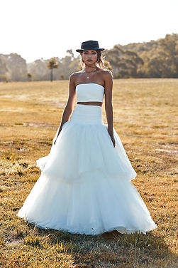 Chosen by One Day Murphy Skirt & Murphy Bandeau Sample Dress for Sale at a discouted price