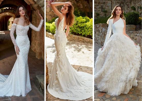 Kelly Faetanini Trunk Show Redux Collection at Bridal Beginning Ava Mila Isadora Dresses