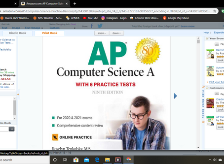 The Best Test Prep Guide for the AP Computer Science A Exam (2020)