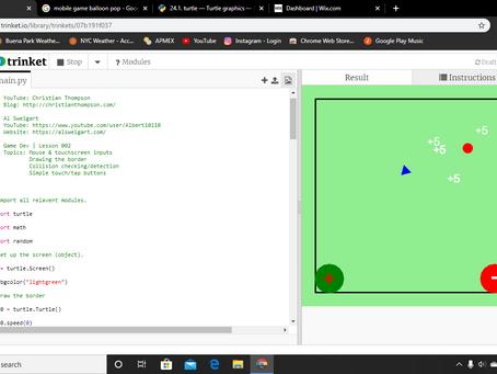 Python Game Dev: Lesson 002