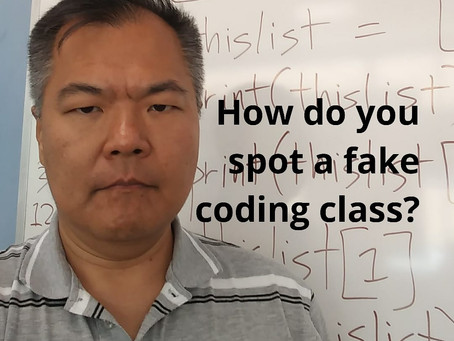 How to Spot a Fake Coding Class