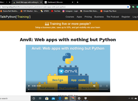 FREE Build-a-Web-App (with Python) Online Course