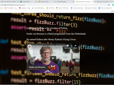 Who is Guido van Rossum?