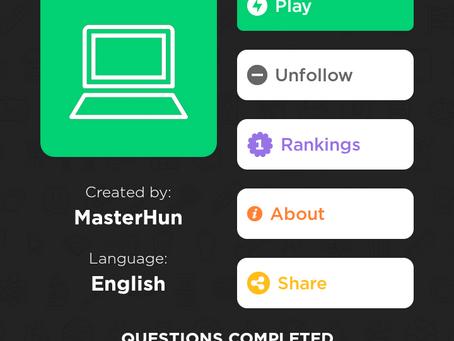 MasterHun on QuizUp