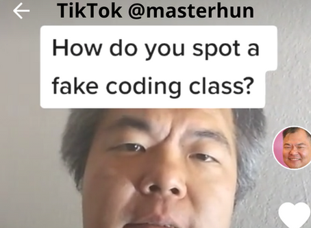 Fake Coding Classes vs. Real Coding Classes