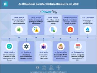 As 10 Notícias Mais Importantes do Setor Elétrico em 2020