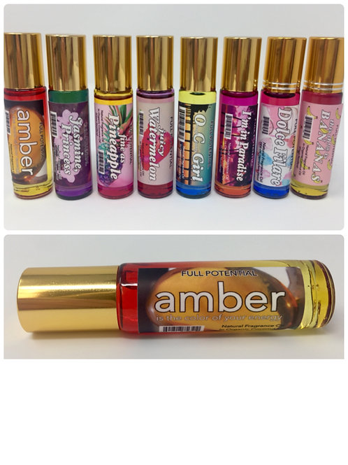 Amber is the Color of Your Energy Full Potential Beauy Fragrance Oil