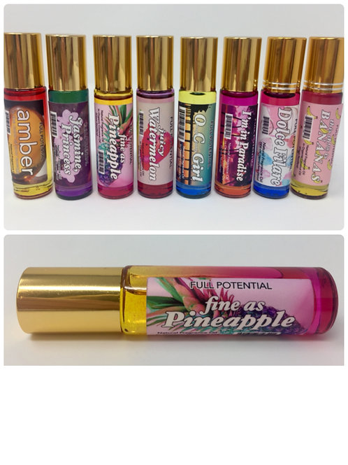 Fine As Pineapple Full Potential Beauty Fragrance Oil