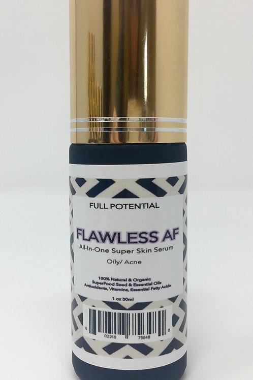 FLAWLESS AF  All-In-One Super Skin Serum    Oily/ Acne Prone