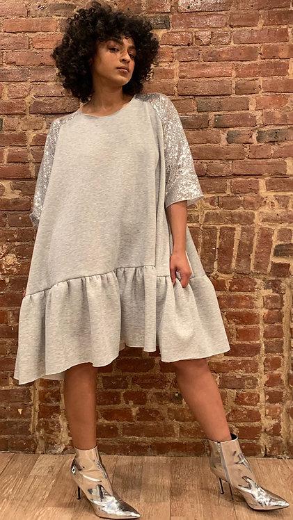 3/4 Raglan Sleeve Dress