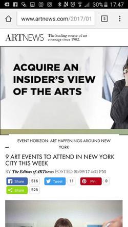 ArtNews, 2017