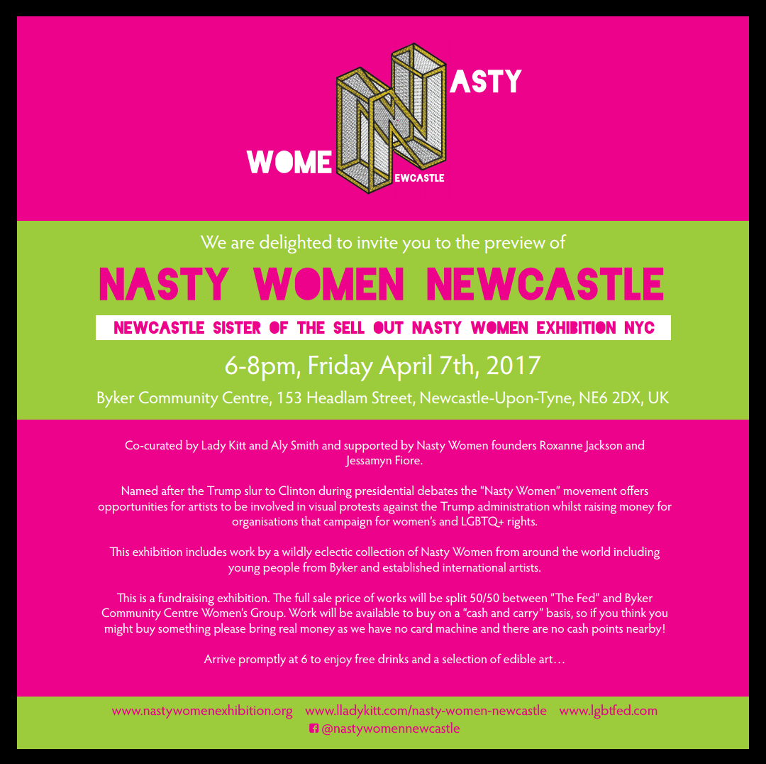 Nasty Women Invite