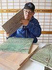 Rob inspecting stone selection.jpg