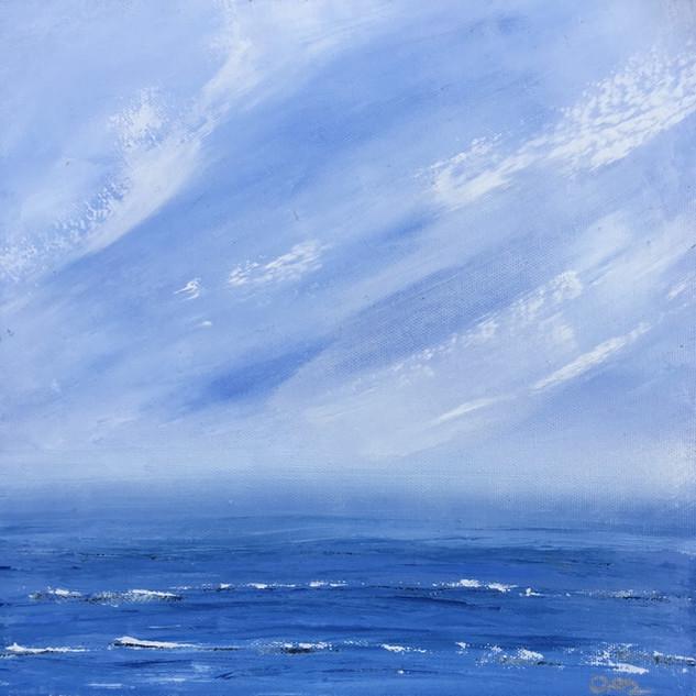 St Agnes Sweepy Sky - £150
