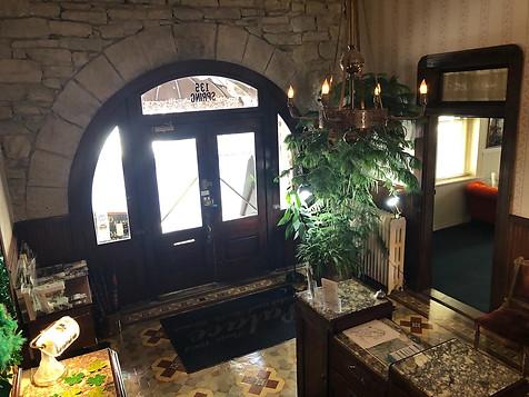 Palace Hotel - Lobby stairs