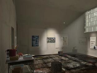 Jackson Pollock Virtual  Reality House Museum
