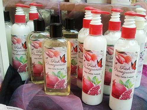 Fresh Pomegranate Silky Satin Shampoo