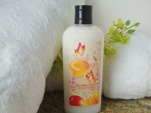 Peach Mango Silky Satin Conditioner